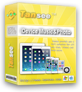 Tansee iDevice Music&Video&Photo&Camera Transfer Free Download